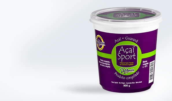 Açaí sorbets ready-to-eat