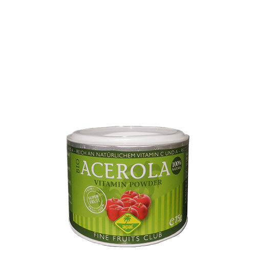 Organic acerola powder - freeze-dried - 2x75g