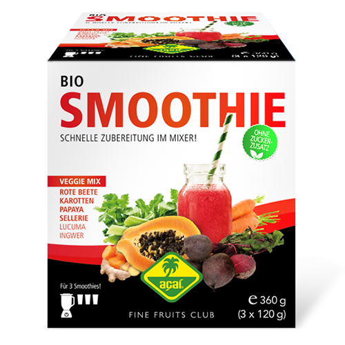 Bio Gemüse Smoothie Mix - Fine Fruits Club