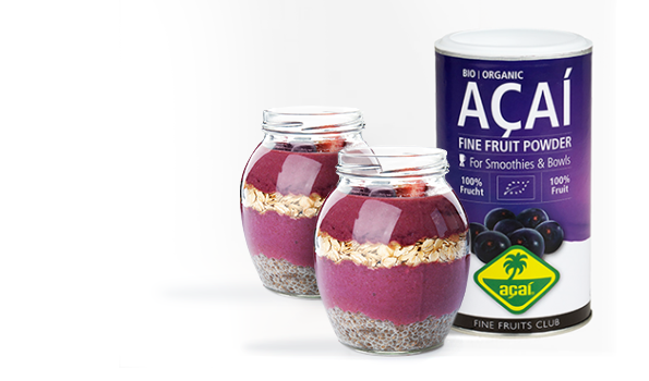 Mix your fresh smoothies and bowls with freeze-dried powders