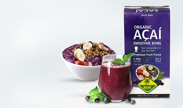 Mix your fresh smoothies and acai bowls