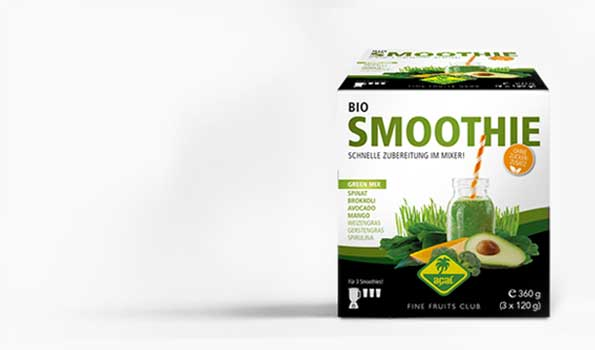 Organic Smnoothie Packs made from 100% fruit and vegetables. Prepared in just 60 seconds.