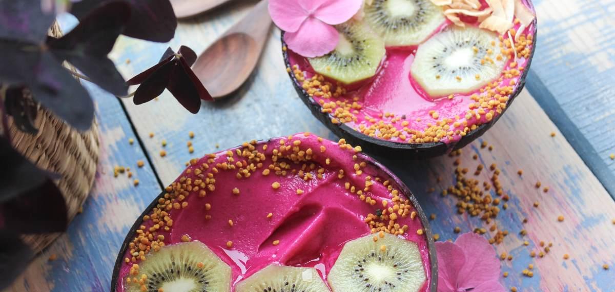 Rezept Pitaya Bowl (Rote Drachenfrucht)