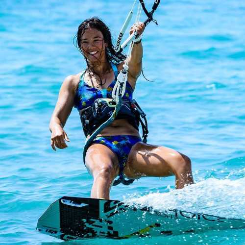 Sabrina Lutz - Kite Boarding
