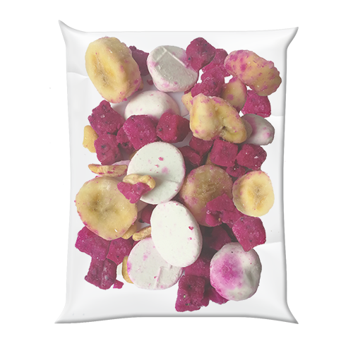 Bio Smoothie Packs PINK DRAGON MIX mit Pitaya  - 40x120g HORECA - gefrorener Smoothie-Mix