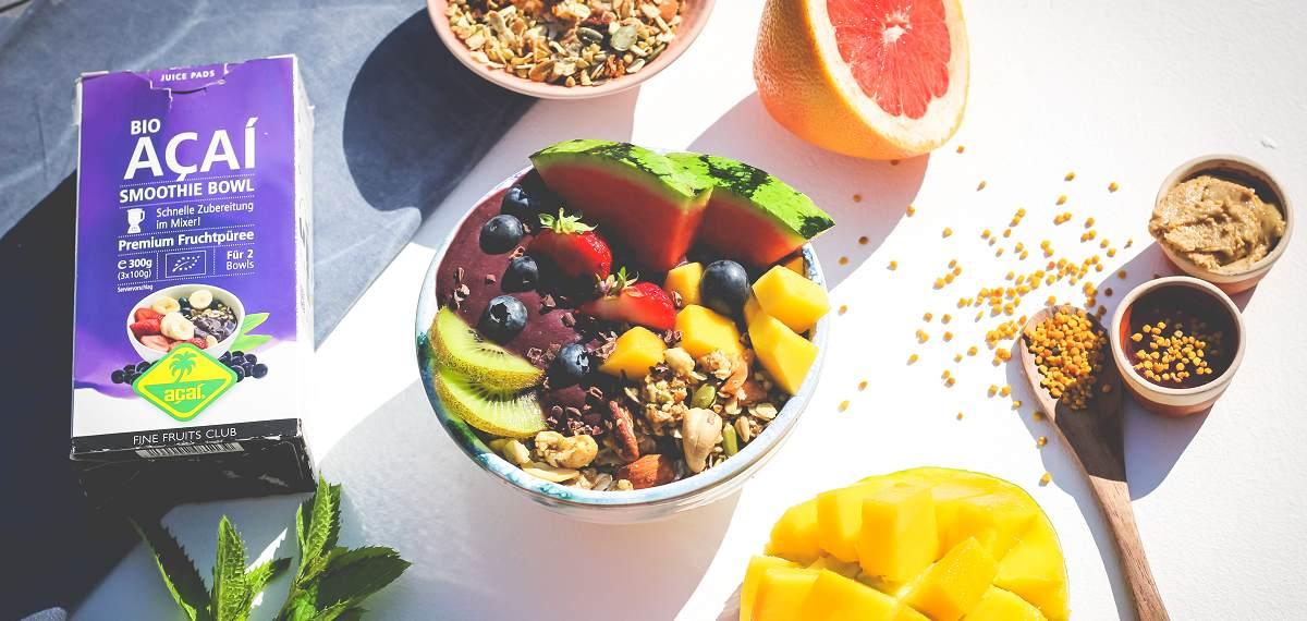 Jetzt Fine Fruits Club Acaipüree im Bio-Fachhandel kaufen!